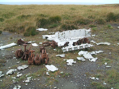 Remains Heinkel He-111H Bomber