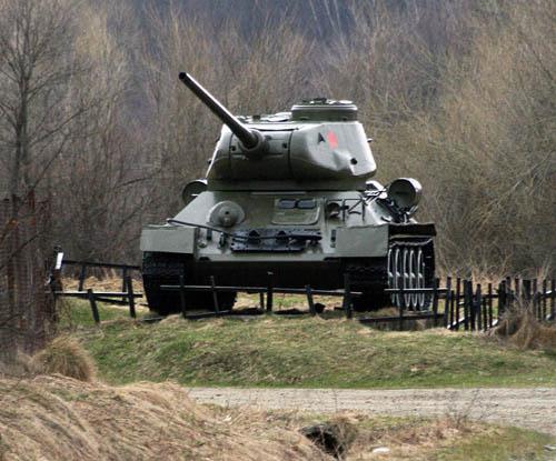 T-34/75 Tank Vyšná Pisaná