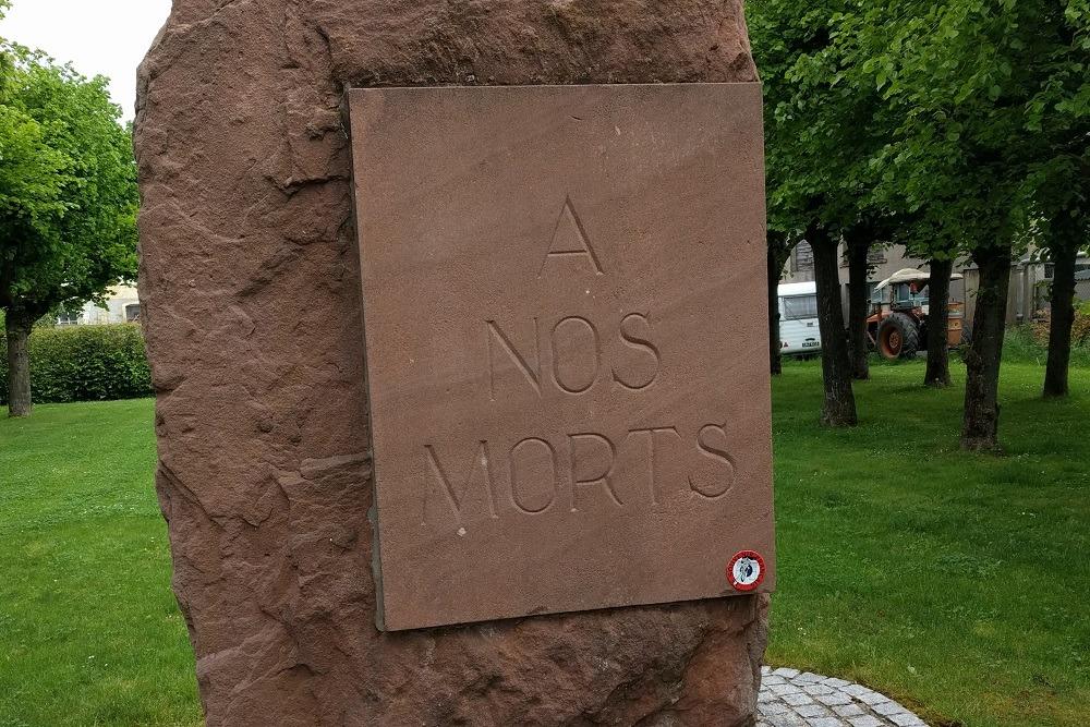 War memorial Marsal