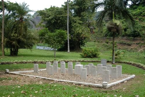 Oorlogsgraven van het Gemenebest Limbe Botanical Gardens