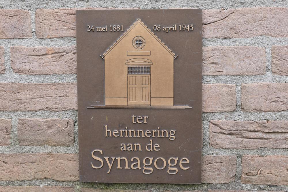 Plaquette Voormalige Synagoge Holten