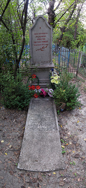 Collective Grave Victims National Socialism