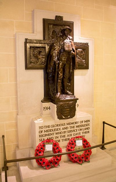 War Memorial Middlesex and the Middlesex Regiment