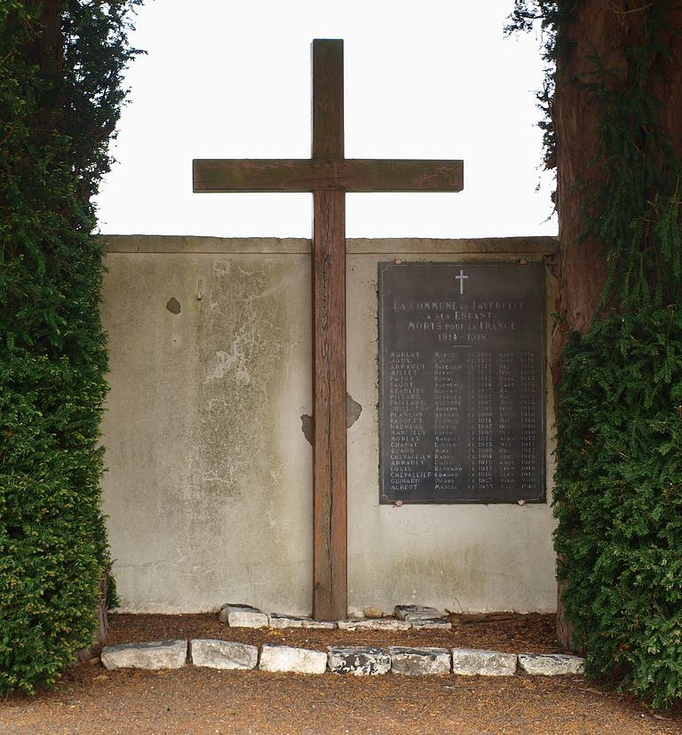 War Memorial Faverelles