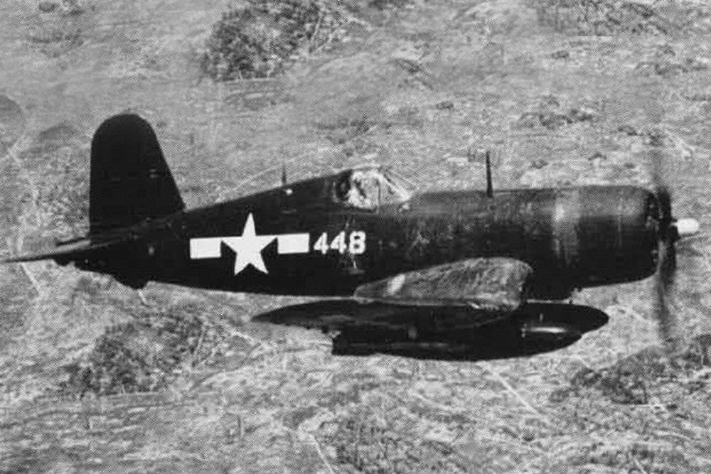 Crashlocatie FG-1A Corsair 14039
