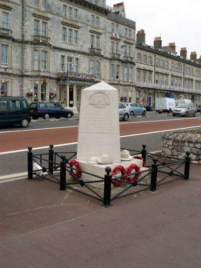 ANZAC Monument Weymouth