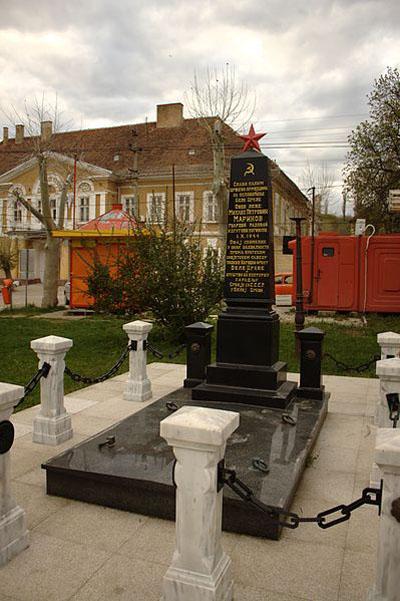 Collective Grave Soviet Soldiers Bela Crkva