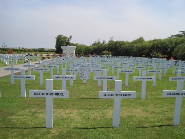 Commonwealth War Graves Ancol Dutch War Cemetery