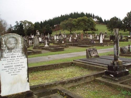 Oorlogsgraf van het Gemenebest Waipawa Cemetery