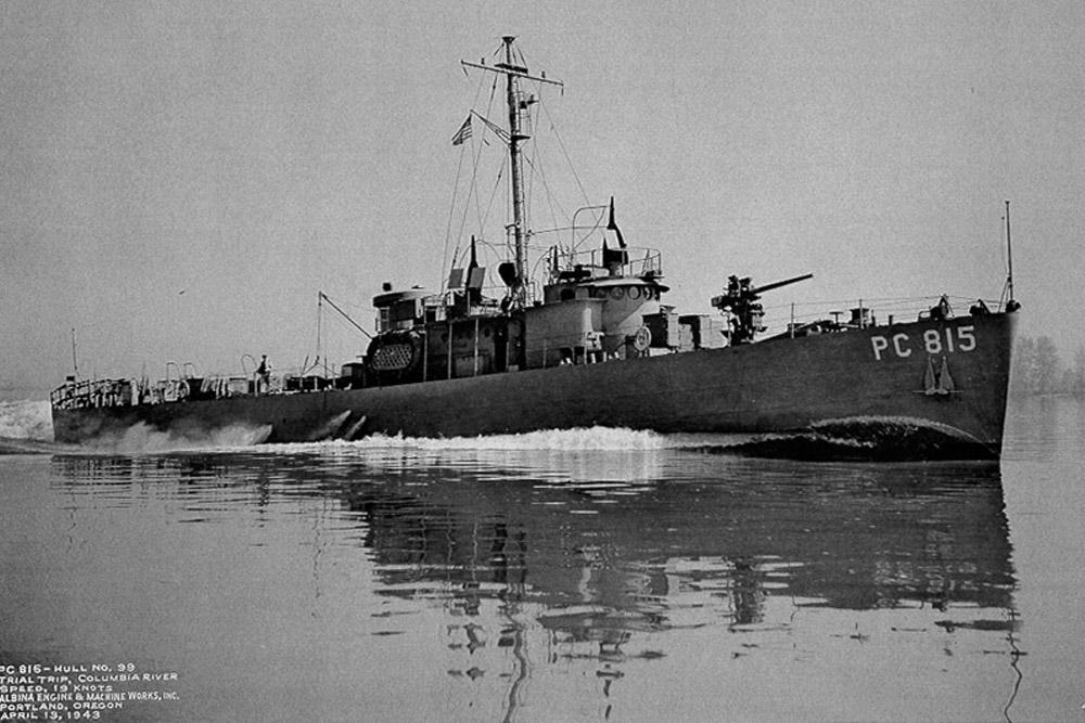Shipwreck U.S.S. PC-558