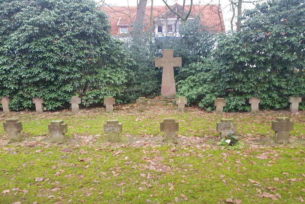 Duitse Oorlogsgraven Wehrmacht Nienburg