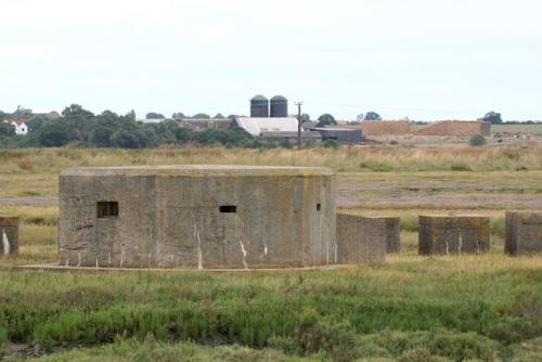 Bunker FW3/22 en Tankversperring St Osyth