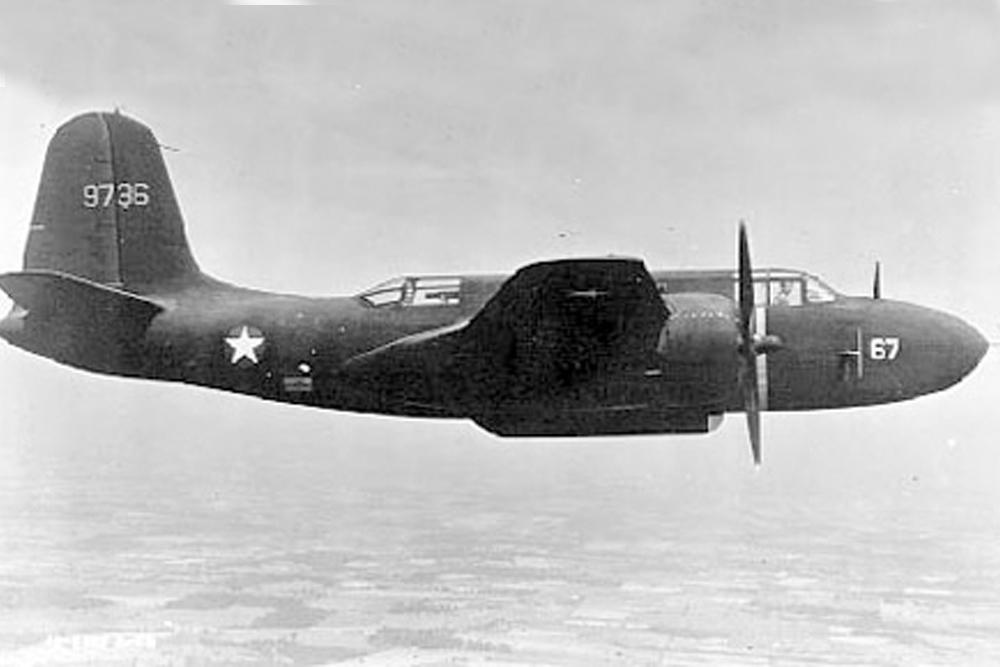 Crash Site & Remains Douglas P-70A Havoc 42-33143