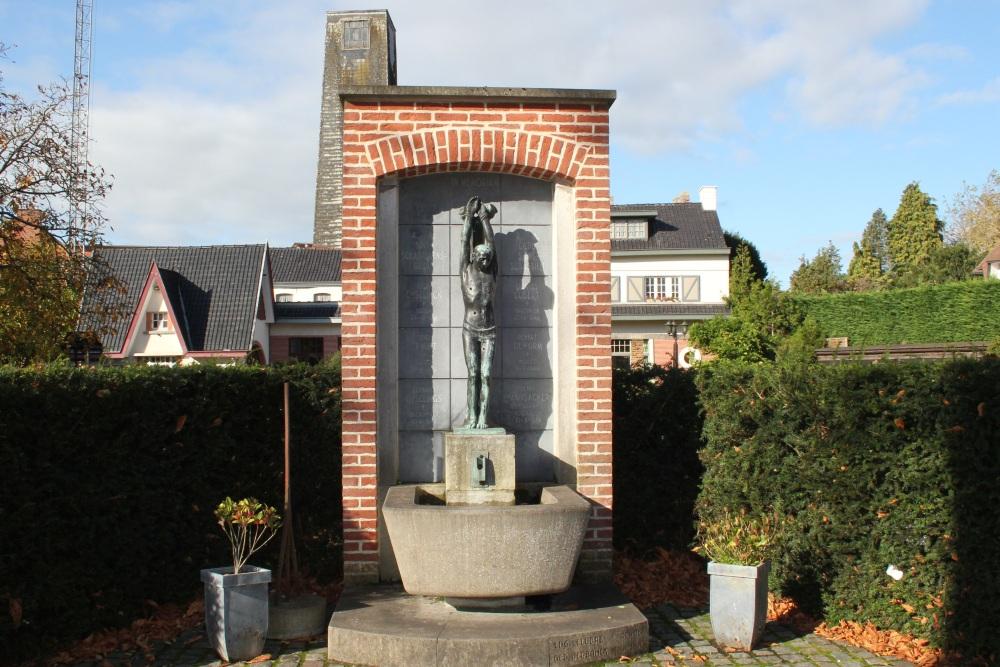 Memorial Killed Members St.-Sebastiaansgilde Ronse