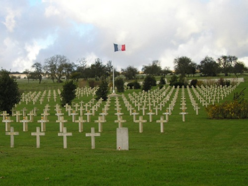 French War Cemetery Brieulles-sur-Meuse