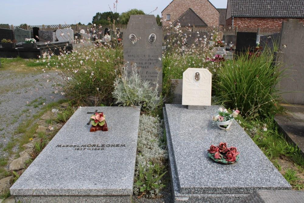 Belgian War Graves Thieulain