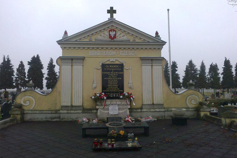 Mass Grave Polish Insurgents Grodzisk Wielkopolski