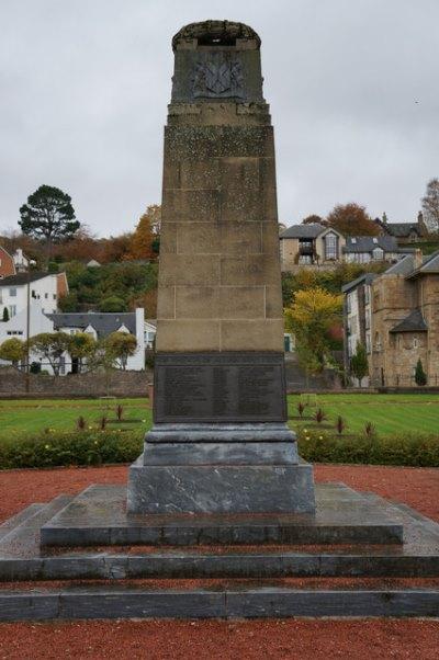 War Memorial Bridge of Allan