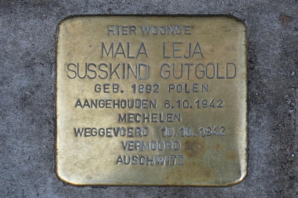 Stolperstein Provinciestraat 167