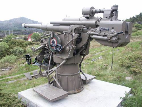 105mm SK C/32 Flak-geschut Fjell