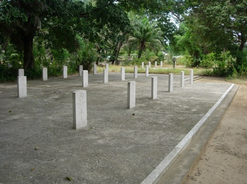 Commonwealth War Graves Tanga