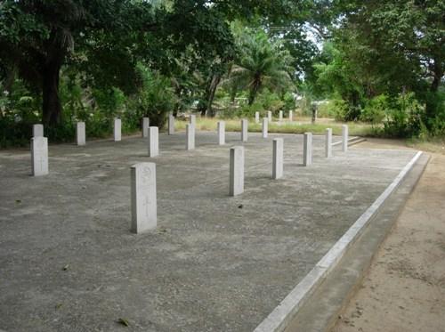 Oorlogsgraven van het Gemenebest Tanga