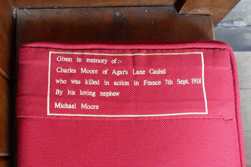 Kneeler Cushion Charles Moore