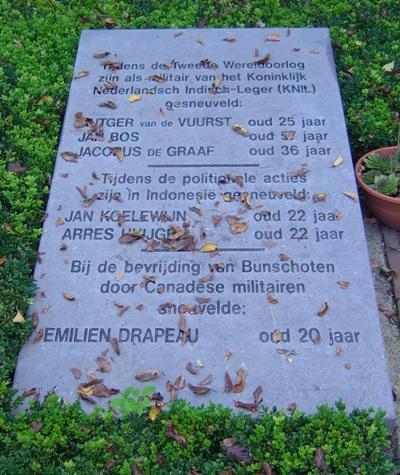 Oorlogsmonument Algemene Begraafplaats Memento Mori Spakenburg