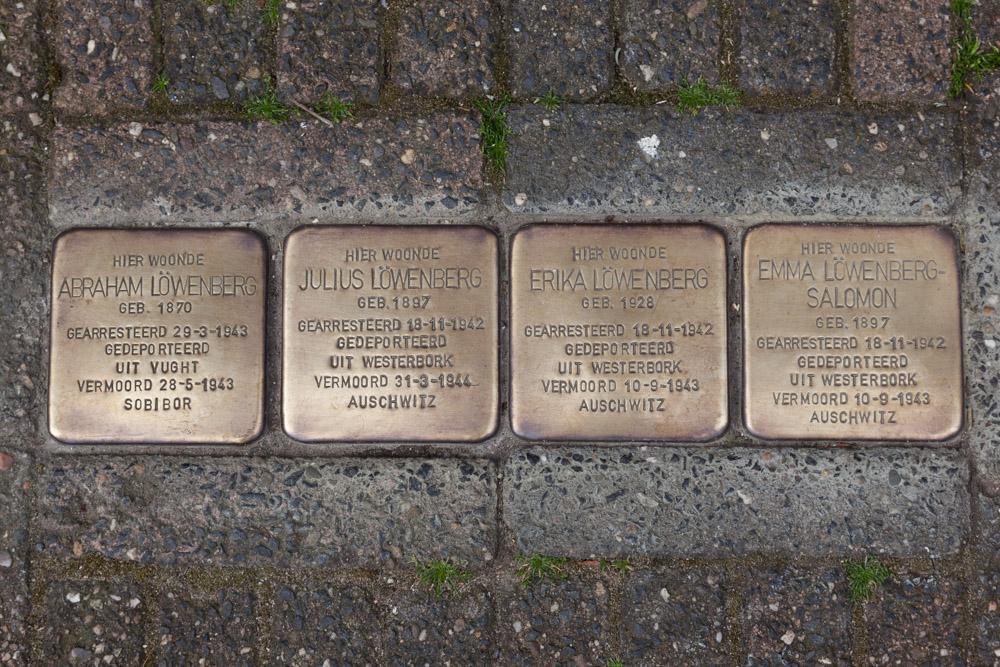 Stolpersteine Steenstraat 2