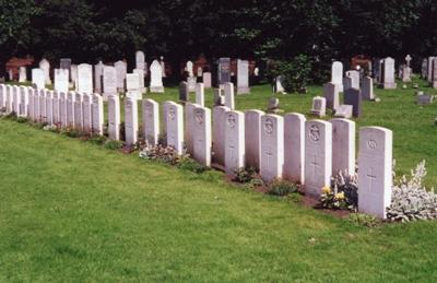 Commonwealth War Graves Seafield Cemetery