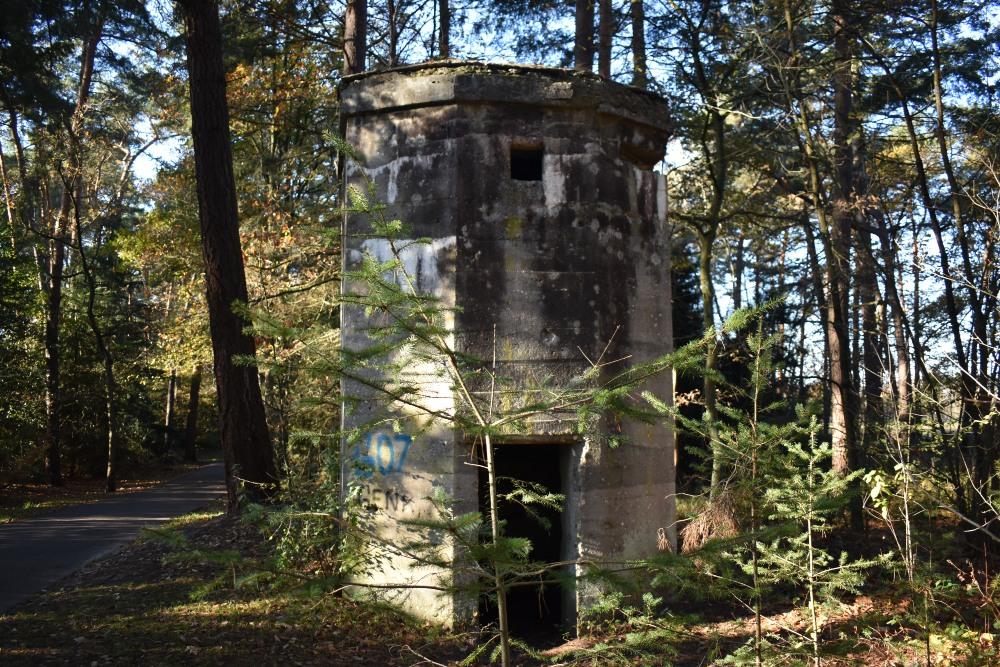 German Artillery Observation Bunker Genk