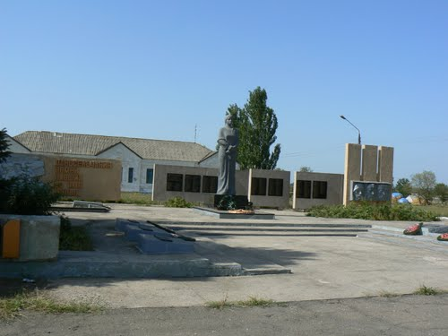 Mass Grave Soviet Soldiers Lyubymivka
