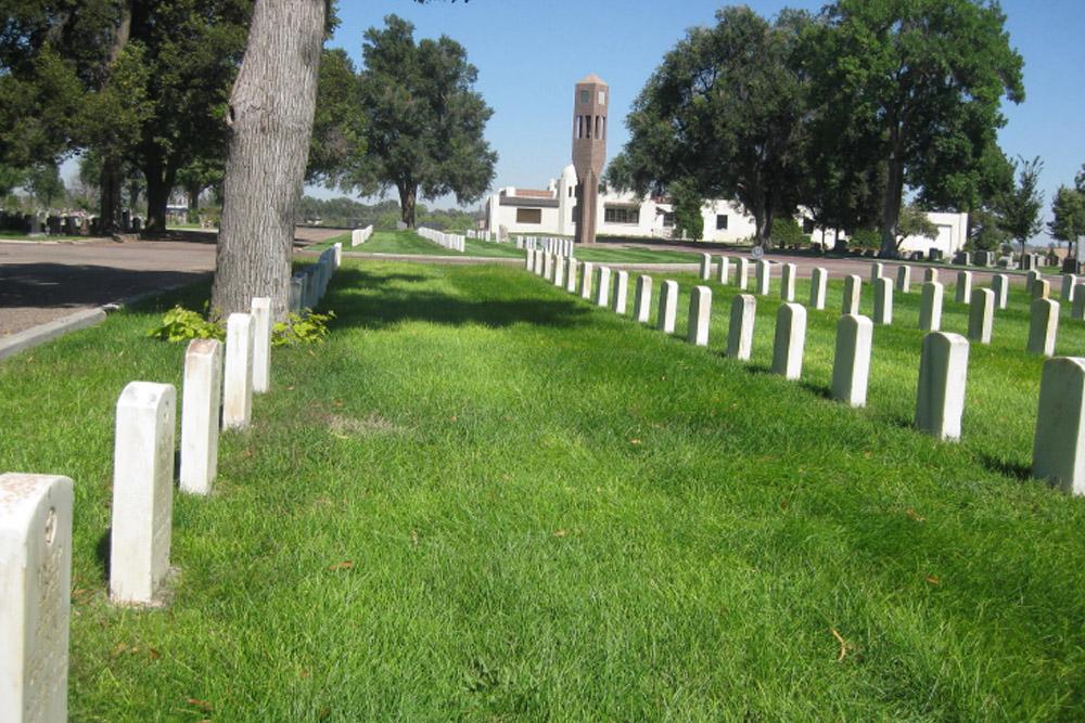American War Graves Linn Grove Cemetery