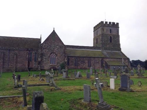 Oorlogsgraf van het Gemenebest St. Aidan Churchyard