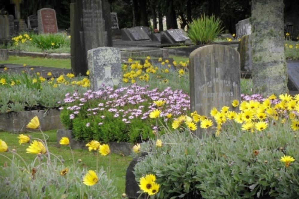 Oorlogsgraven van het Gemenebest Hamilton East Park Cemetery
