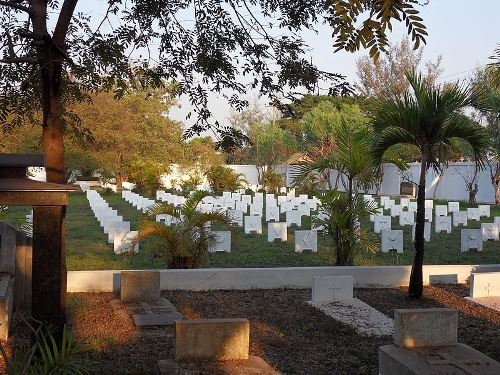 French Military Cemetery Vientiane