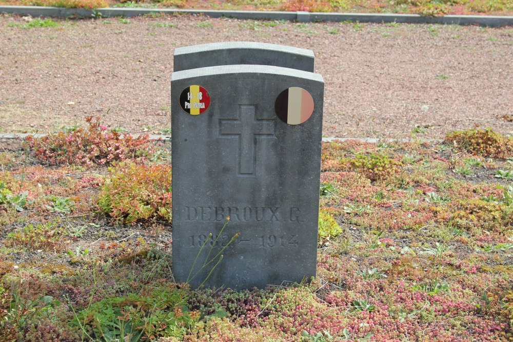 Belgische Oorlogsgraven Lasne