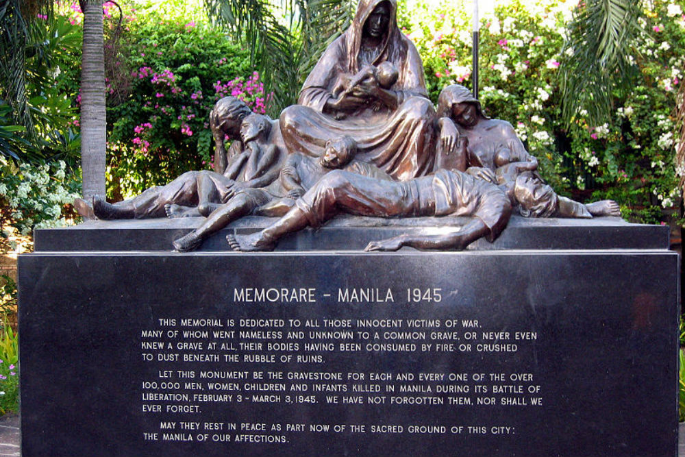 Memorial Civilian Casualties Manila 'Memorare'