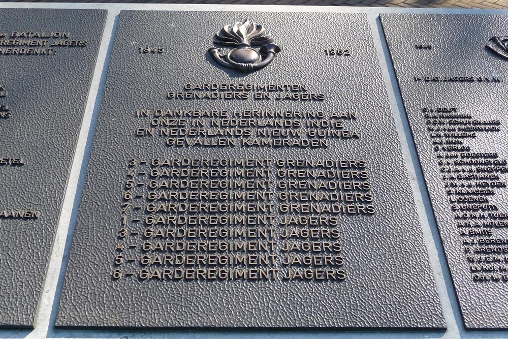 Plaque Guards Regiments, Grenadiers and Rifles