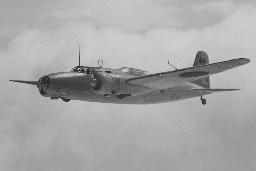 Crashlocatie Mitsubishi Ki-21