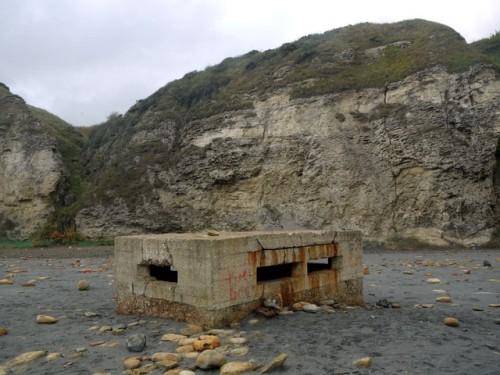 Vickers MG Bunker Blast Beach