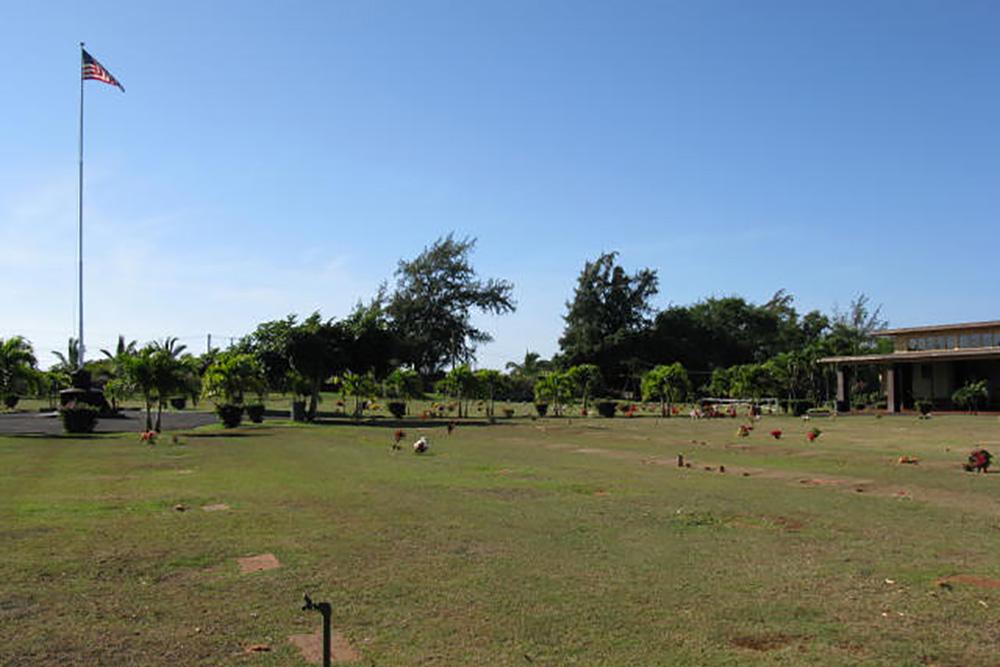 Amerikaanse Oorlogsgraven Kauai Veterans Cemetery