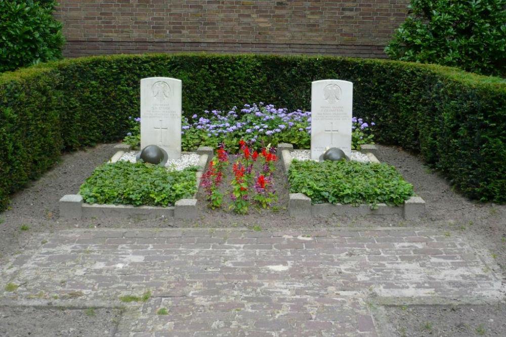 Oorlogsgraven van het Gemenebest Kerkhof Mariahout