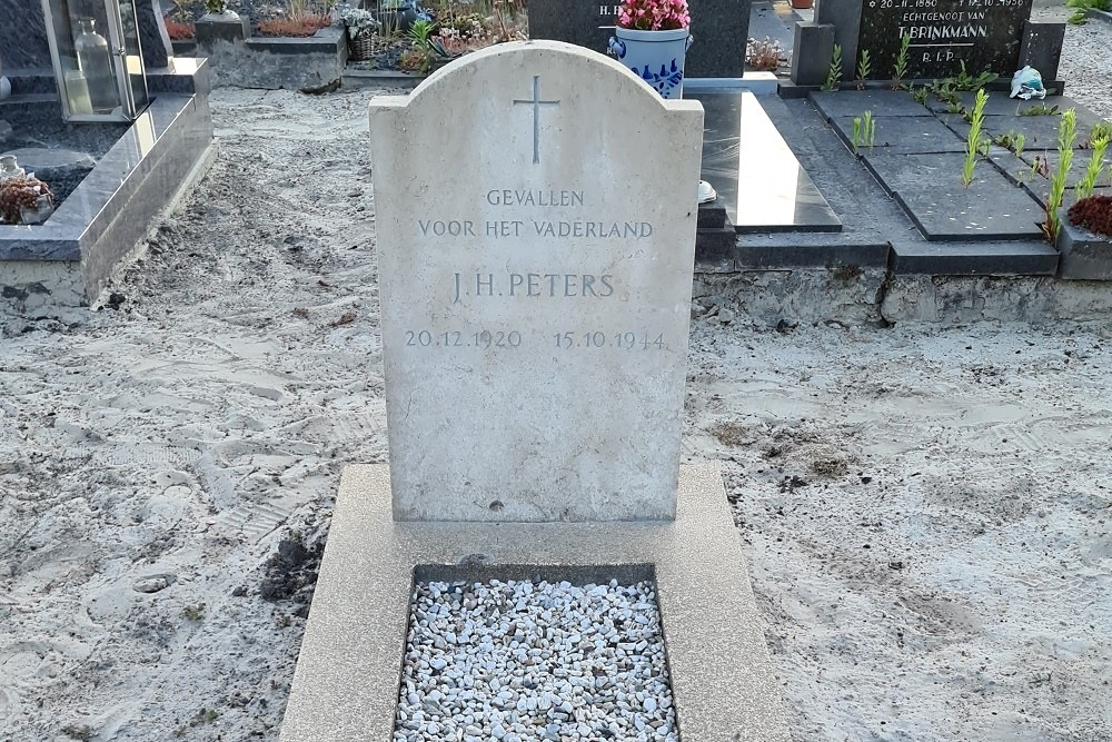 Nederlandse Oorlogsgraven Rooms Katholieke Begraafplaats Zwartemeer