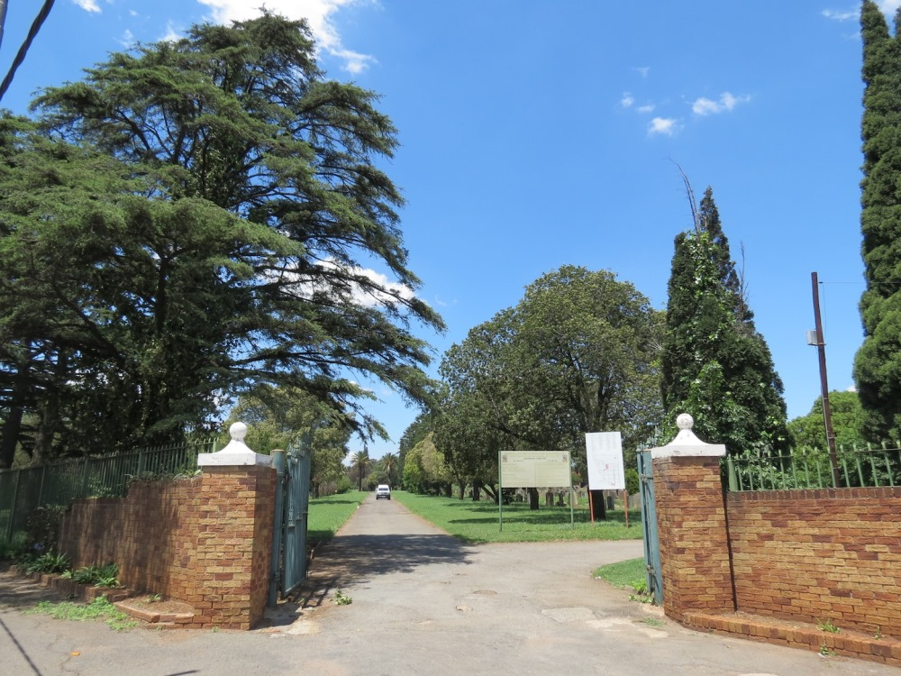 Commonwealth War Graves Boksburg Cemetery