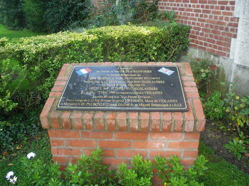 Monument Strijd 23-27 Mei 1940