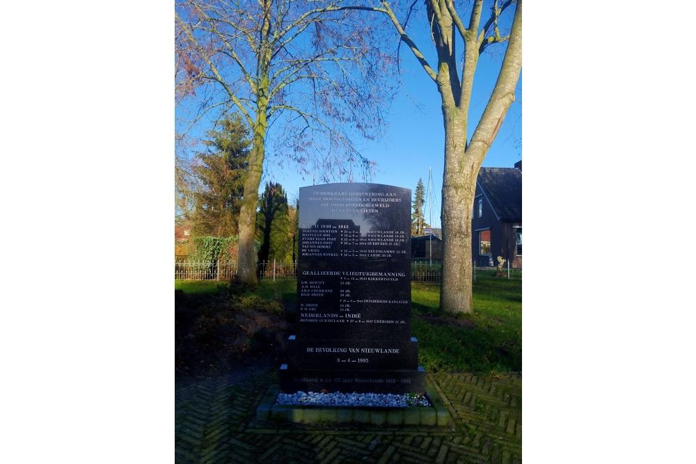 War Memorial Nieuwlande