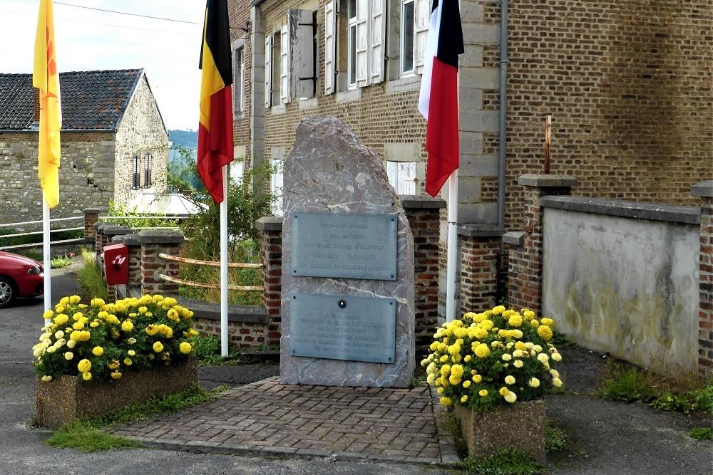 Oorlogsmonument Heer-sur-Meuse