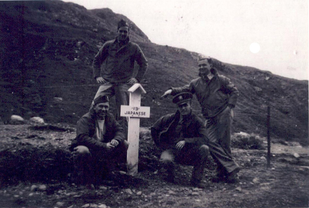 Former Japanese War Cemetery Attu
