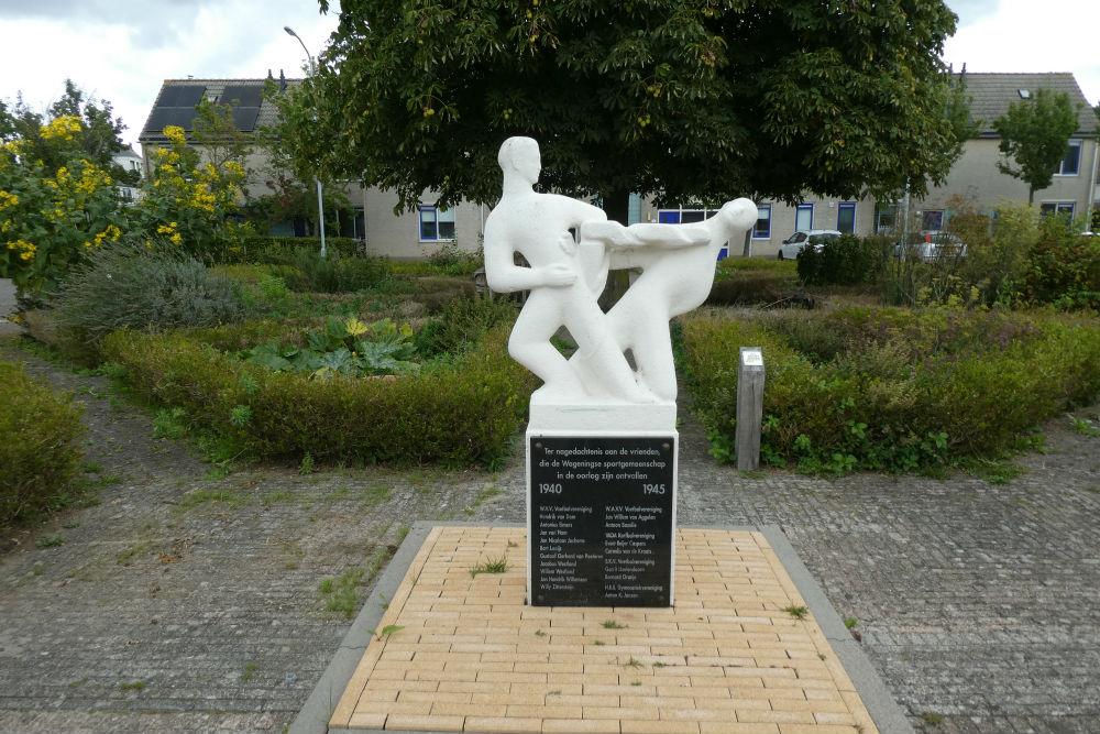 Monument Omgekomen Sporters Wageningen
